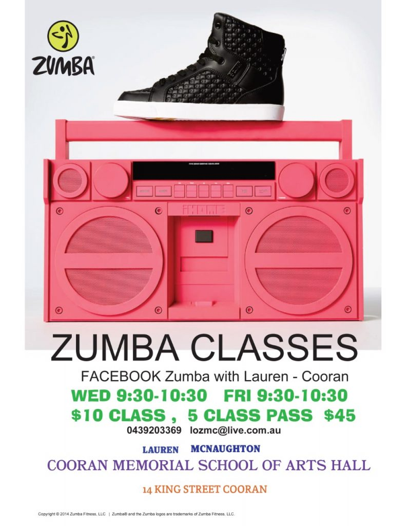cooran-hall-what's-on-zumba-classes