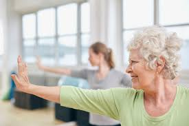 TUESDAYS 8AM Engage Your Core Fitness Over 50s
