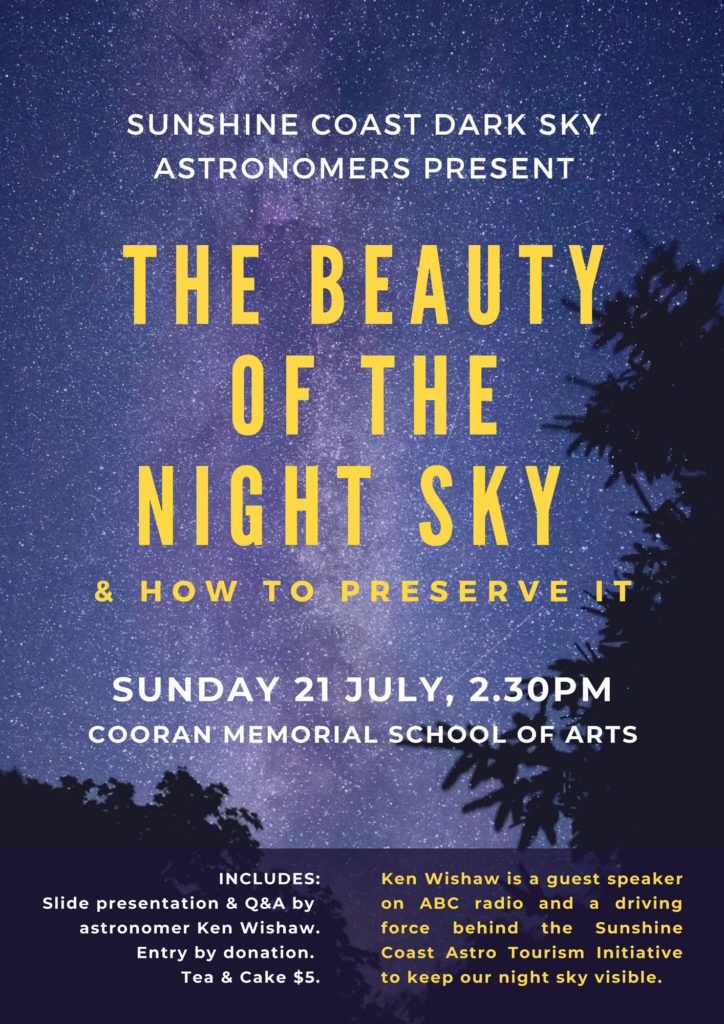 The-Beauty-of-the-Night-Sky-Cooran-Hall-Astronomy-Event-2019