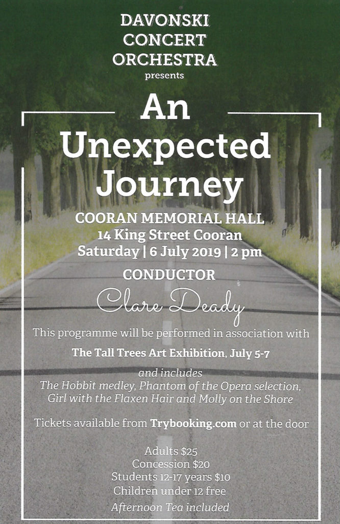 Davonski-Concert-Orchestra-An-Unexpected-Journey-Cooran-Hall-Tall-Trees-2019