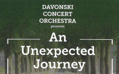 6 JULY 2019, 2PM An Unexpected Journey – Davonsky Concert Orchestra