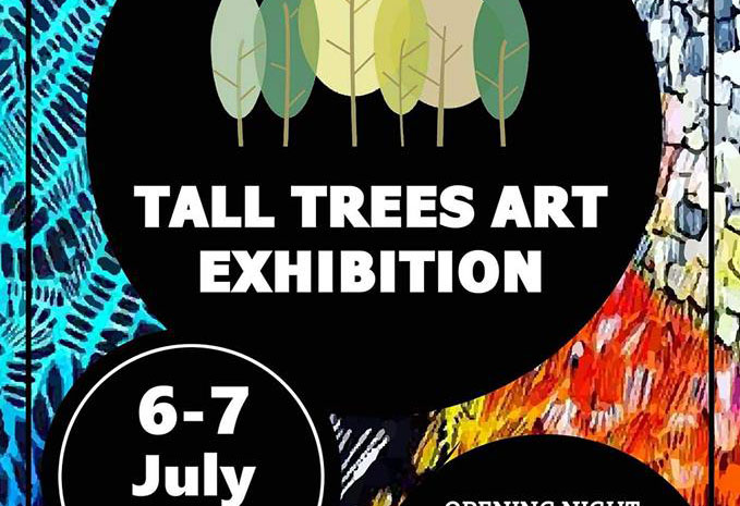 5-7 JULY 2019 – Tall Trees Art Exhibition, Cooran
