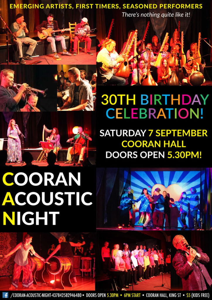 Cooran-Acoustic-Night-30th-Birthday-Cooran-Hall-September-2019