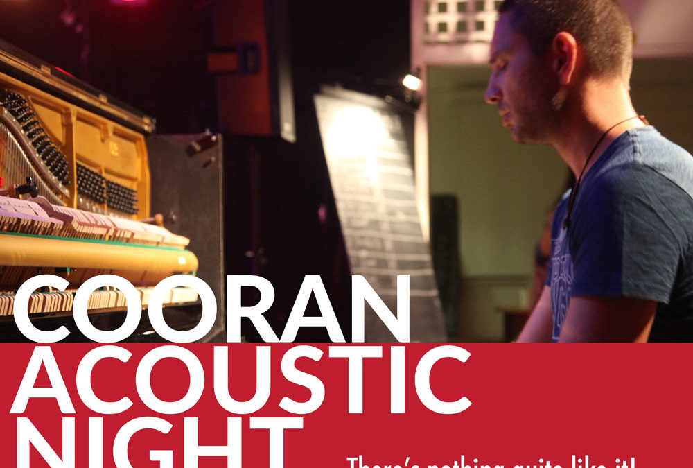16 NOVEMBER, 7PM – Last Cooran Acoustic Night for 2019!